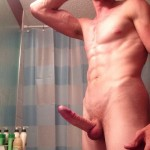 Big Hard Cock With Smooth Shaved Balls