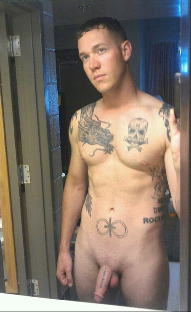 Pictures of sexy nude tattooed men think, that