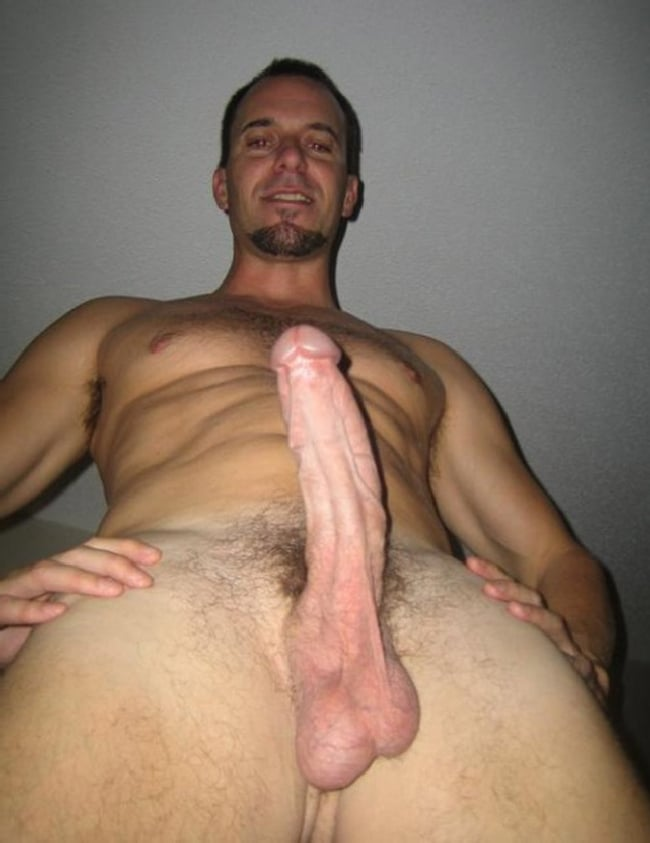 Horny Nude Man With Hard Curved Cock - Nude Boy Pictures