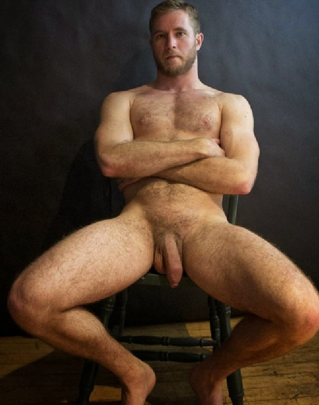 Hairy Nude Guy