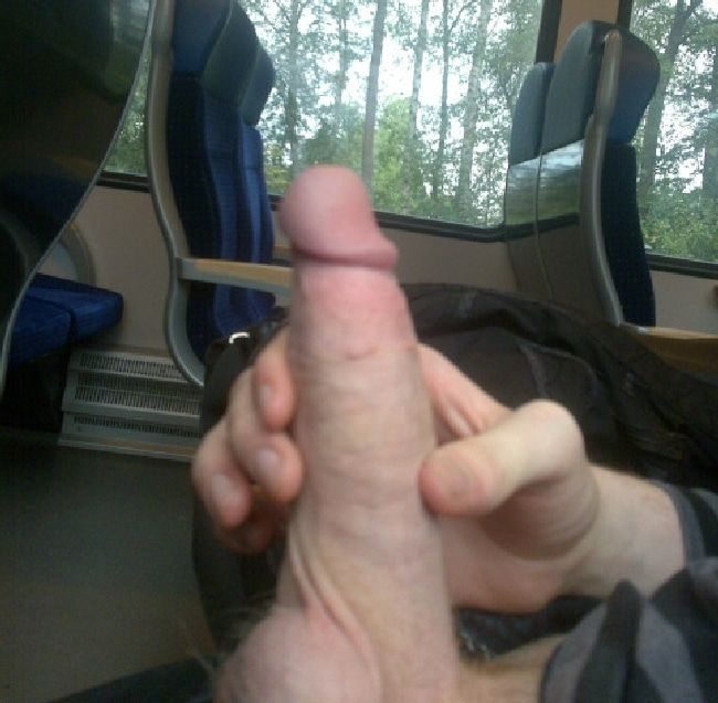 Horny Guy Jerking Off On A Bus - Nude Boy Pictures